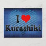 I Love Kurashiki, Japan Postcard