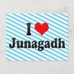 I Love Junagadh, India Postcard