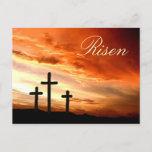 Easter Risen Postcard