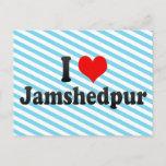 I Love Jamshedpur, India Postcard