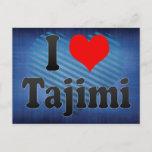 I Love Tajimi, Japan Postcard