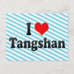 I Love Tangshan, China. Wo Ai Tangshan, China Postcard