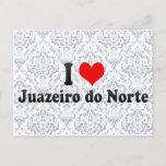 I Love Juazeiro do Norte, Brazil Postcard