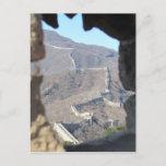 great wall glimpse postcard