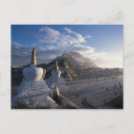 Tibet - Lhasa. Potala at sunrise Postcard
