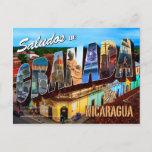 Saludos de Granada, Nicaragua Postcard