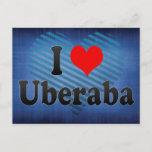 I Love Uberaba, Brazil. Eu Amo O Uberaba, Brazil Postcard