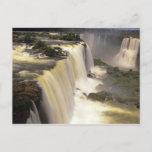 South America, Brazil, Igwacu Falls, Igwazu Postcard