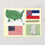 Mississippi USA Postcard