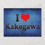 I Love Kakogawa, Japan Postcard