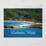 Tranquil Island Paradise Labadee Haiti Postcard