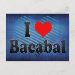I Love Bacabal, Brazil Postcard