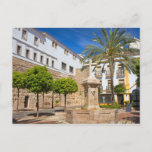 Church Square in the Old town of Marbella Postcard