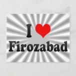 I Love Firozabad, India Postcard