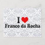 I Love Franco da Rocha, Brazil Postcard