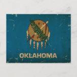 Oklahoma State Flag VINTAGE.png Postcard