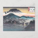Vesper Bell at Mii Temple, Lake Biwa Postcard