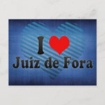 I Love Juiz de Fora, Brazil Postcard