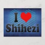 I Love Shihezi, China. Wo Ai Shihezi, China Postcard
