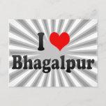 I Love Bhagalpur, India Postcard