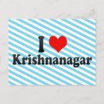 I Love Krishnanagar, India Postcard