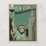 New York - The Empire City Postcard