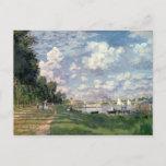 Claude Monet | The Marina at Argenteuil, 1872 Postcard