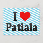 I Love Patiala, India Postcard