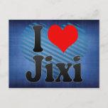 I Love Jixi, China Postcard