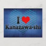 I Love Kanazawa-shi, Japan Postcard