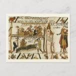 Replica Vintage postcard, Bayeaux Tapestry Postcard