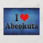 I Love Abeokuta, Nigeria Postcard