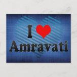 I Love Amravati, India. Mera Pyar Amravati, India Postcard