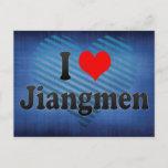 I Love Jiangmen, China. Wo Ai Jiangmen, China Postcard