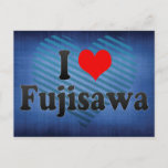 I Love Fujisawa, Japan. Aisuru Fujisawa, Japan Postcard