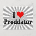 I Love Proddatur, India Postcard