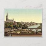 Ulm, Wurtemburg, Germany rare Photochrom Postcard