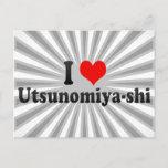 I Love Utsunomiya-shi, Japan Postcard