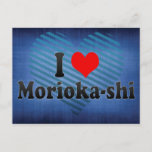 I Love Morioka-shi, Japan Postcard