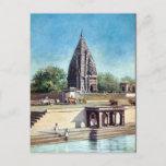 Old Postcard - Ramnagar, Varanasi, India