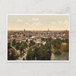 General view, Brunswick (i.e., Braunschweig), Germ Postcard