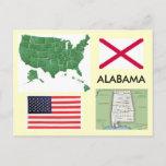 Alabama, USA Postcard