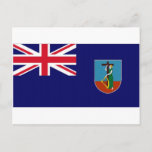 Montserrat National Flag Postcard