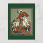 Saint George Prayer Card