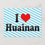 I Love Huainan, China Postcard