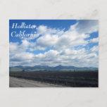 Hollister, California Postcard