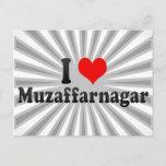 I Love Muzaffarnagar, India Postcard