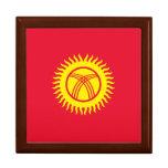 Kyrgyzstan Flag Keepsake Box
