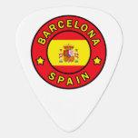 Barcelona Spain Guitar Pick