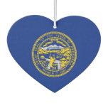 Nebraska State Flag Design Air Freshener